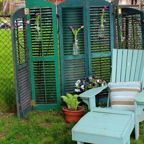 κήπος πράσινο παραβάν