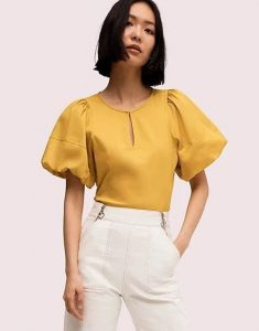 κίτρινη γυναικεία μπλούζα