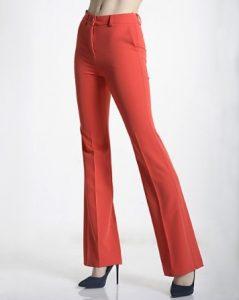 κόκκινο παντελόνι καμπάνα