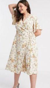 λουλουδάτο φόρεμα midi