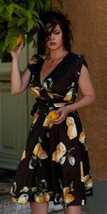 κρουαζέ φόρεμα Μαρία Κορινθίου