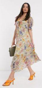maxi φλοραλ φόρεμα