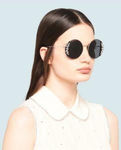 μεγάλα στρόγγυλα γυαλιά ηλίου