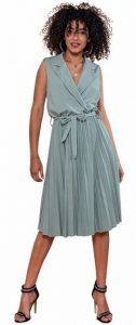 midi αέρινο καλοκαιρινό φόρεμα