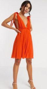 μίνι φορεματάκι κόκκινο