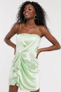 μίνι στράπλες φόρεμα για γάμο