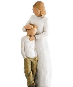 μινιατούρα παιδί μητέρα