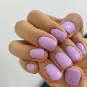 παστέλ μοβ νύχια χρώματα νυχιών καλοκαίρι