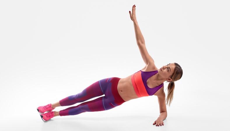 Άσκηση πλάγιας σανίδας