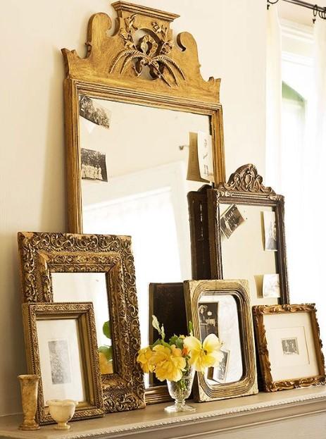 πολλοί καθρέπτες στρώσεις συρταριέρα