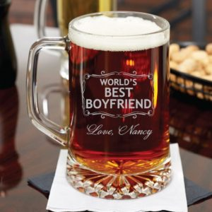 ποτήρι μπύρας προσωπικό μήνυμα αφιέρωση