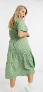 πράσινο ανοιχτό φορεματάκι