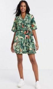 πράσινο mini φόρεμα