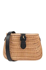 ψάθινη τσάντα gucci