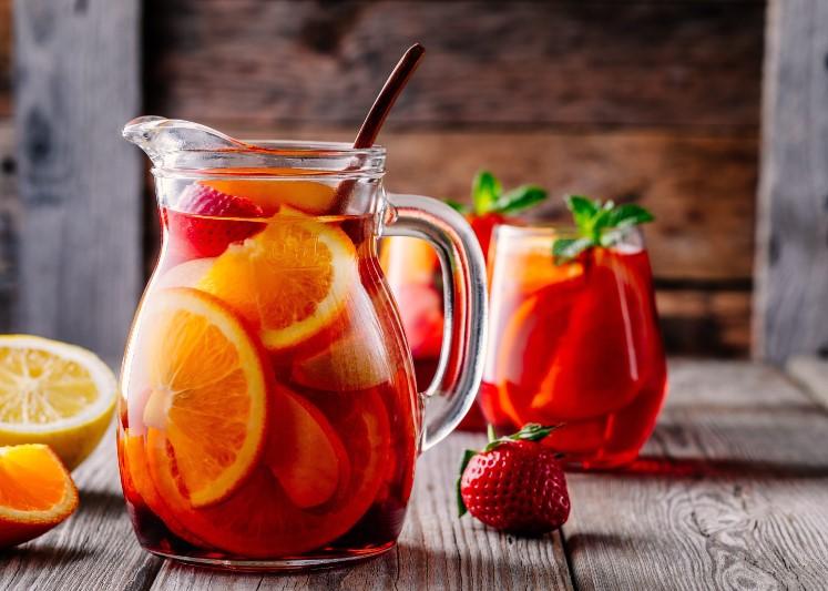 Punch φρούτων για το καλοκαίρι