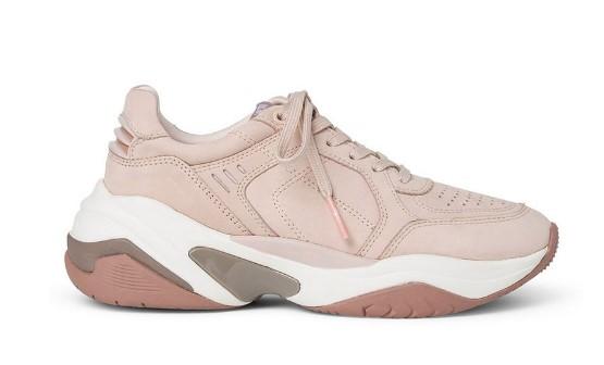 ροζ ανοιχτό sneakers