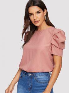 ροζ γυναικείο μπλουζάκι