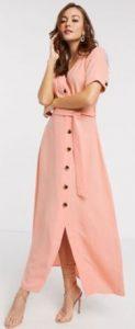 ροζ maxi φορεματάκι