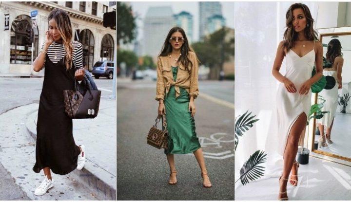 5 Στιλάτοι τρόποι να φορέσεις το slip dress!