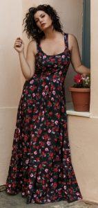 τιραντέ floral φόρεμα Parizianista