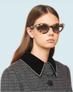 τριγωνικά γυναικεία γυαλιά καλοκαίρι 2020