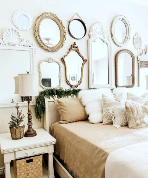 υπνοδωμάτιο πολλοί καθρέπτες