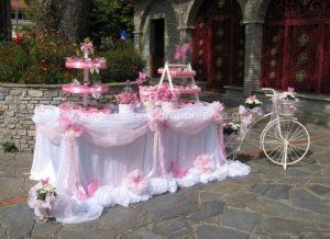 ροζ λευκο πεταλουδα