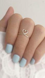 δαχτυλίδι καρδούλα