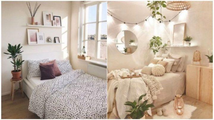 6 Όμορφοι τρόποι διακόσμησης για μια μικρή κρεβατοκάμαρα!