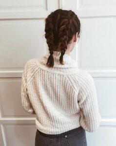 γαλλικά πλεξουδάκια καρέ μαλλί μακρύ καρέ χτενίσματα