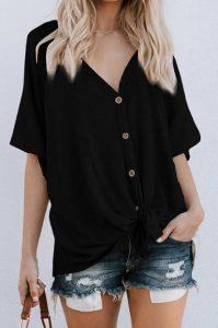 μαύρη μακριά μπλούζα τζιν παντελόνι κάνεις φόρεμα μπλούζα