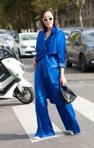 μπλε παντελόνι σακάκι