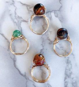 όμορφα δαχτυλίδια diy