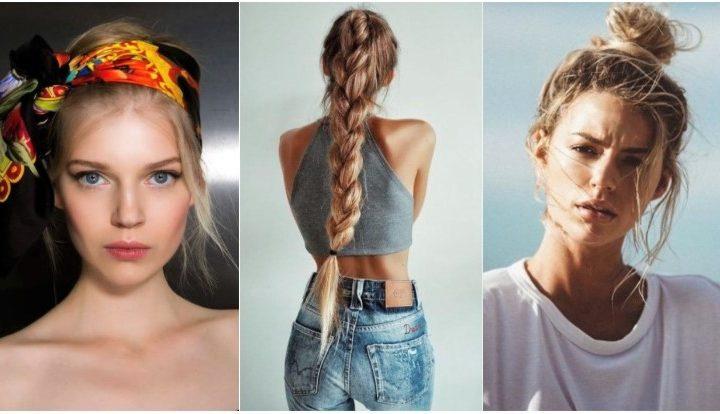 5 Κομψοί τρόποι να πιάσεις τα μαλλιά σου όταν έχει πολλή ζέστη!