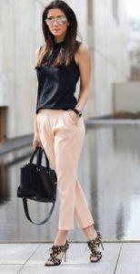 ροζ παντελονα