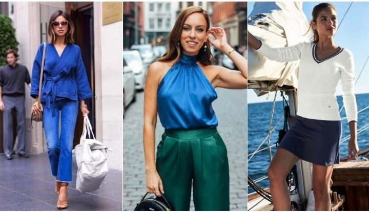 4 Όμορφες ιδέες για συνδυασμό μπλε ρούχων!