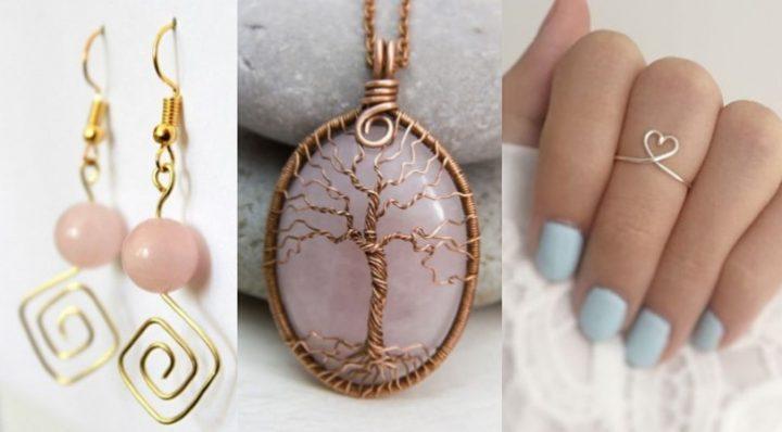Εύκολα DIY κοσμήματα από σύρμα!