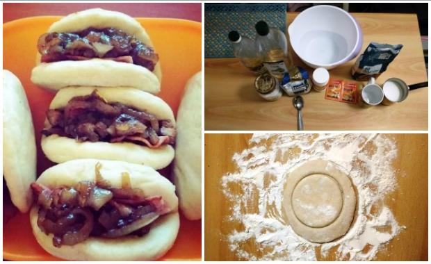Εύκολη συνταγή για bao buns (ψωμάκια ατμού)!