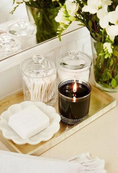 διακοσμητικός δίσκος κερί