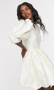 φόρεμα γάμου mini