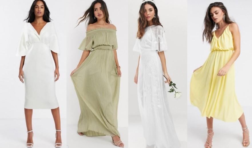 φορέματα για απλό ή πολιτικό γάμο