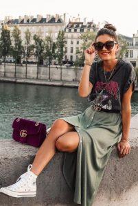 φούστα μπεζ σταράκια αγοράσεις καλοκαιρινές εκπτώσεις