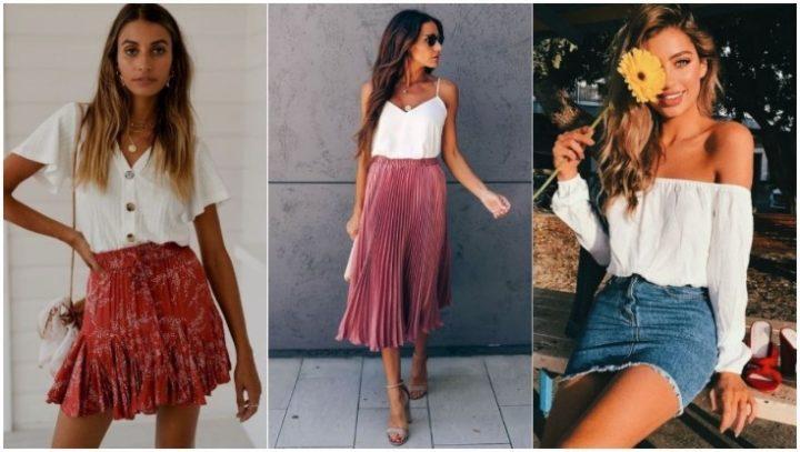 4 Φούστες που δε θα αποχωρίζεσαι φέτος το καλοκαίρι!