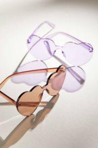 γυαλιά ηλίου καρδούλες