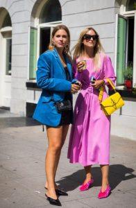 γυναίκες χρωματιστά ρούχα mules καλοκαίρι