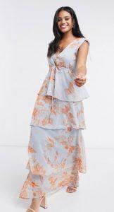 καλοκαιρινό maxi φόρεμα