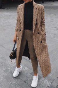 καρό μακρύ παλτό αγοράσεις καλοκαιρινές εκπτώσεις