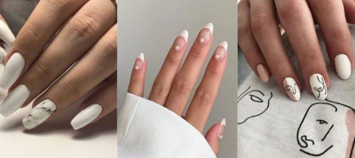 30 Κομψά καλοκαιρινά σχέδια για λευκά νύχια!