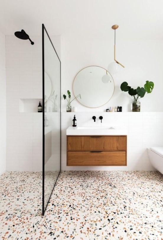 λευκό μπάνιο