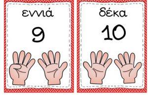 καρτες με αριθμους